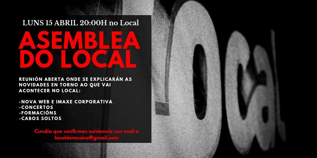 ASEMBLEA DO LOCAL 2019