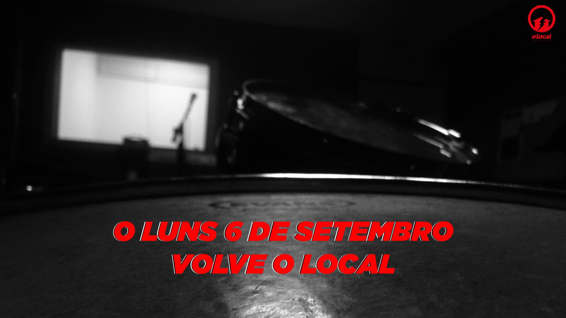 REAPERTURA TRAS VACACIÓNS O LUNS 6 DE SETEMBRO